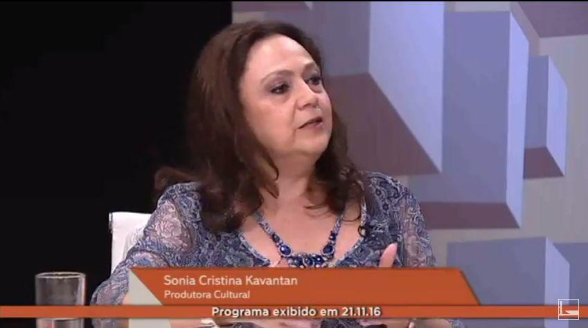 Lei Rouanet discutida por Sonia Kavantan na TV Câmara